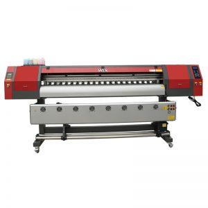 เครื่องพิมพ์ระเหิดสีม่วงขนาด 1.8 ม. พร้อมหัวพิมพ์ dx5 สามหัวสำหรับการพิมพ์เสื้อยืด WER-EW1902