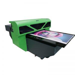 1800 A2 ขนาดออกแบบใหม่สิ่งทอเครื่องถาดแบบแบนเครื่องพิมพ์พิมพ์ WER-D4880UV