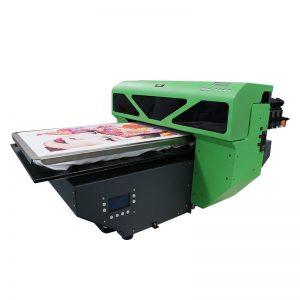 เครื่องพิมพ์เลเซอร์สีความเร็วสูง 8 สีสำหรับเครื่องพิมพ์เสื้อยืดราคาถูกเครื่องพรินเตอร์ TFT เครื่องพิมพ์ Flatbed ผลิตในประเทศจีน WER-D4880T
