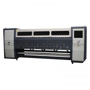 คุณภาพดี K3404I / K3408I เครื่องพิมพ์ตัวทำละลาย 3.4 ม. อิงค์เจ็ทหนัก