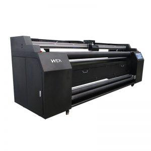 WER-E1802T พิมพ์โดยตรง 1.8 เมตรต่อเครื่องพิมพ์สิ่งทอด้วยเครื่องพิมพ์ sublimation 2 * DX5