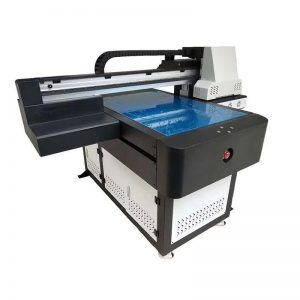 เครื่องพิมพ์อิงค์เจ็ท UV แบบดิจิตอลสำหรับขวดแก้วพลาสติก WER-ED6090UV