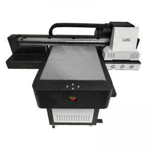 โรงงานราคาถูกราคาขายปลีก td ดิจิทัล flatbed สิ่งทอเสื้อโดยตรงไปยังเครื่องพิมพ์ภูษา WER-ED6090T