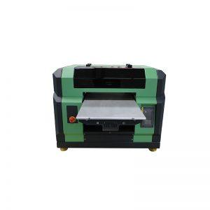 ราคาที่ดีสำหรับ a3 a4 Flatbed WER-E2000UV uv นำเครื่องพิมพ์ด้วย dx5 หัว 8 สี