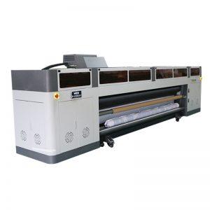 เครื่องพิมพ์อิงค์เจ็ทดิจิตอลความเร็วสูงความละเอียดสูงพร้อมหัวพิมพ์ RICO Gen5 หัวพิมพ์ UV WER-G-3200UV
