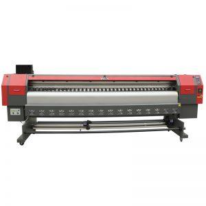 เครื่องพิมพ์ตัวทำละลายความเร็วสูง 3.2 เมตรเครื่องพิมพ์แบบแบนด์วิดธิ์แบบดิจิตอล WER-ES3202