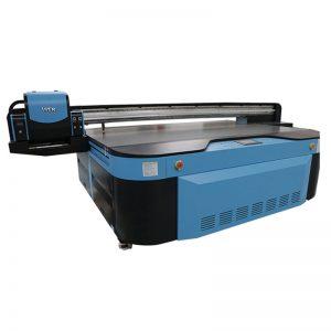 2.5 เมตร * ขนาดการพิมพ์ 1.3 เมตร 3D ที่มีลายนูน Industrial UV เครื่องพิมพ์สำหรับโลหะไม้แก้วเซรามิกคณะกรรมการคริลิคพีวีซี,